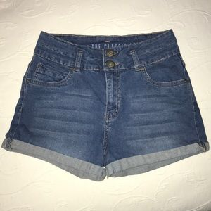 Cotton On Classic High Rise Denim Shorts